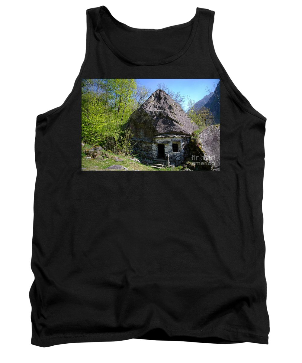 Cheese Tank Top featuring the photograph Troll House by Mats Silvan