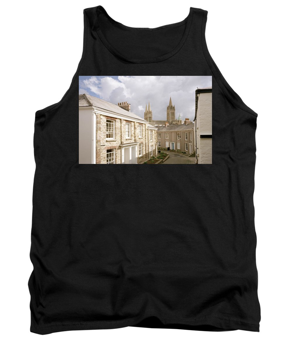 Truro Tank Top featuring the photograph Truro Cathedral by Shaun Higson