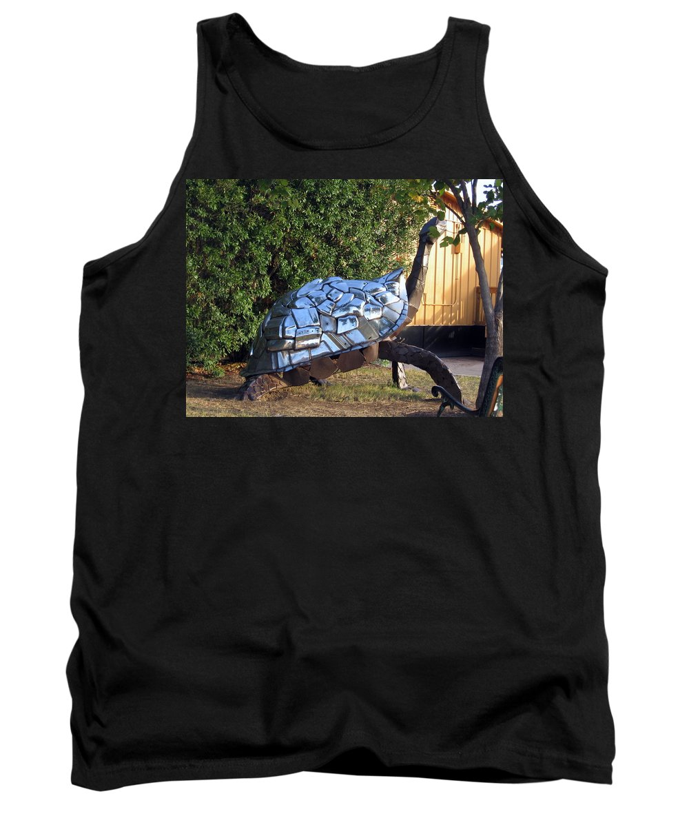 Turtle Tank Top featuring the photograph Turtle by Amy Hosp