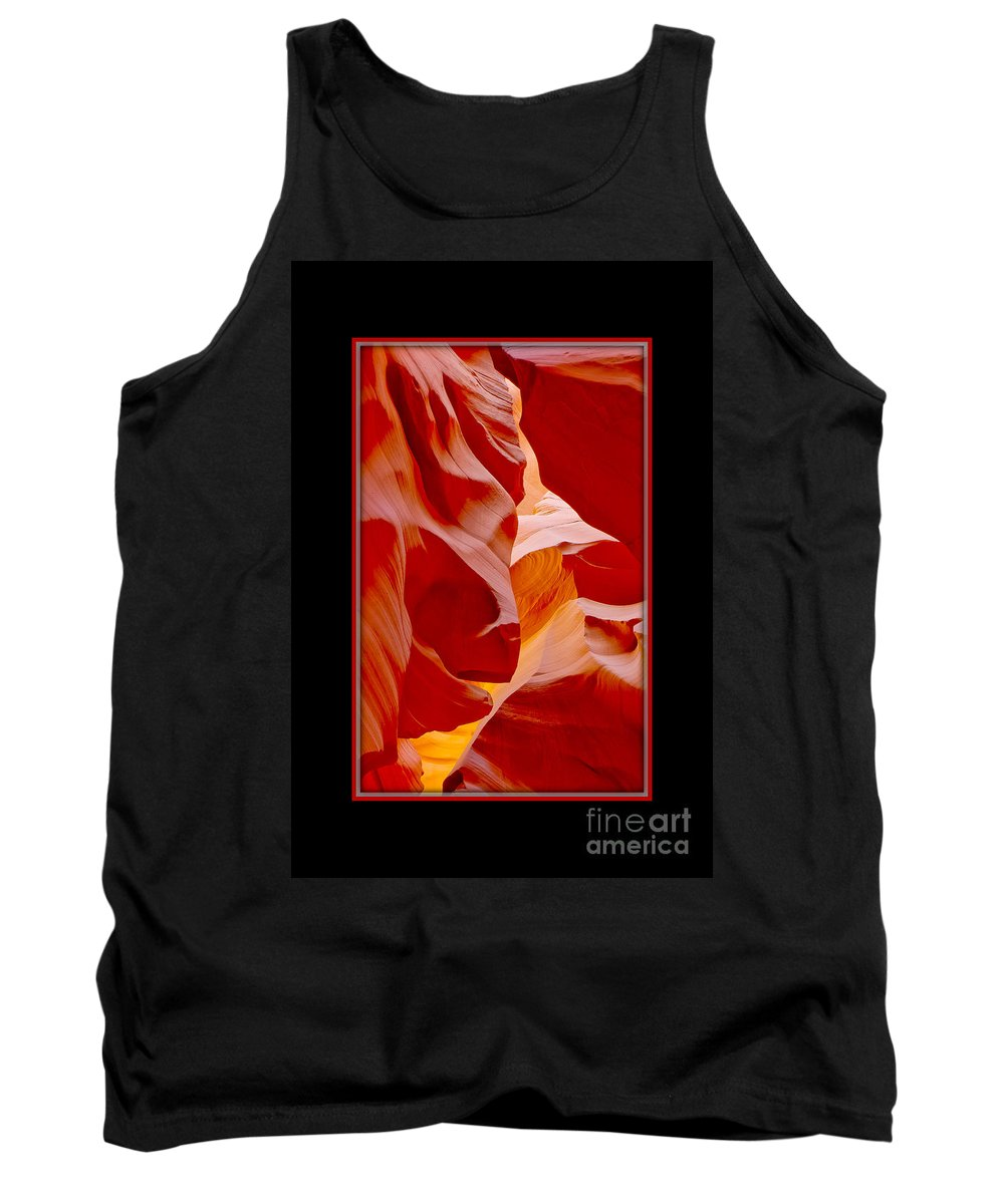 Antelope Canyon Tank Top featuring the photograph Turtle Face by Larry White