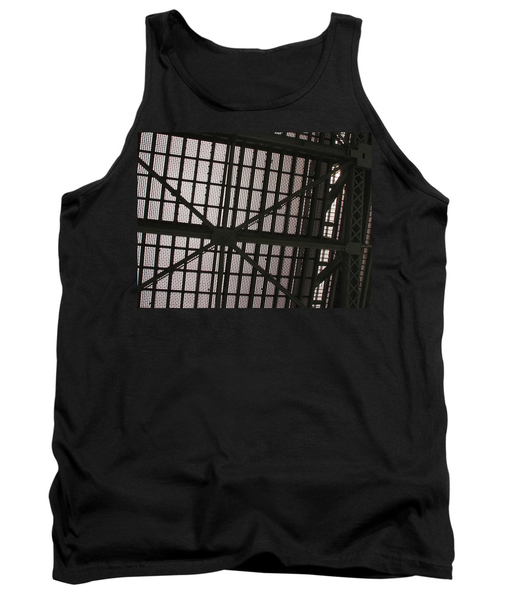 Bridge Tank Top featuring the photograph Under The Bridge by Michael Merry