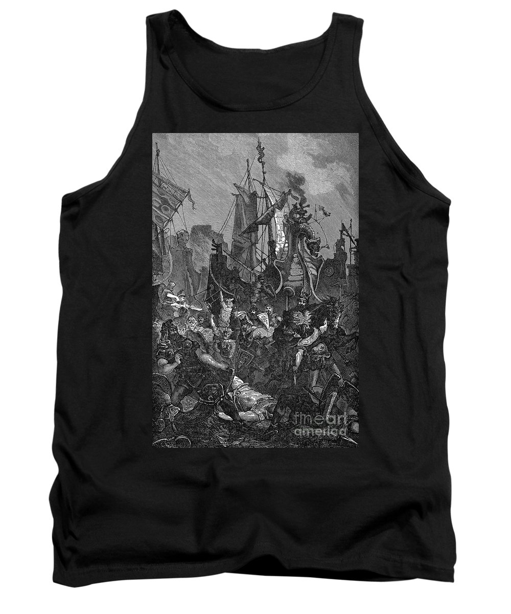 5th Century Tank Top featuring the photograph Vandal Invasion Of Africa by Granger