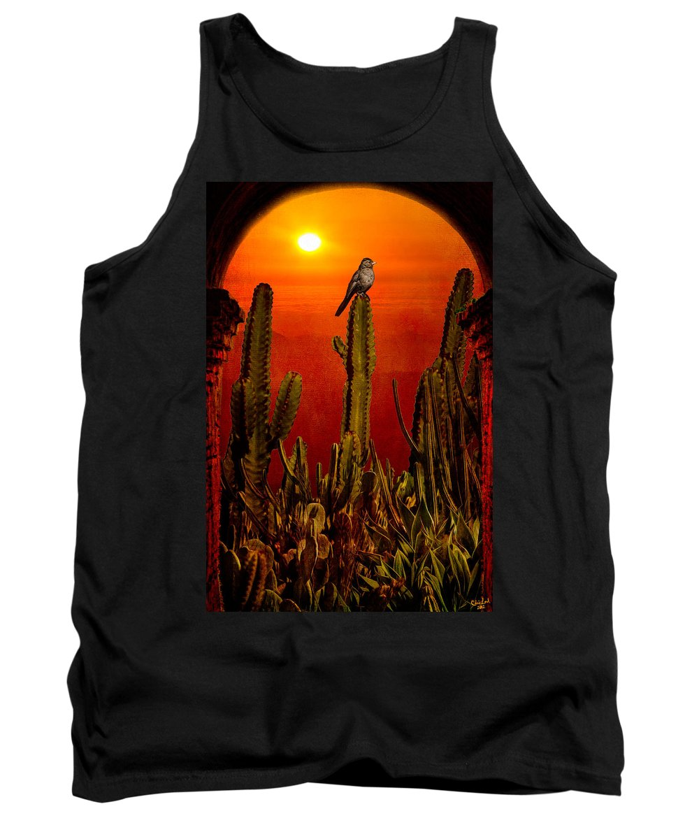 California Tank Top featuring the photograph View From The Mission by Chris Lord