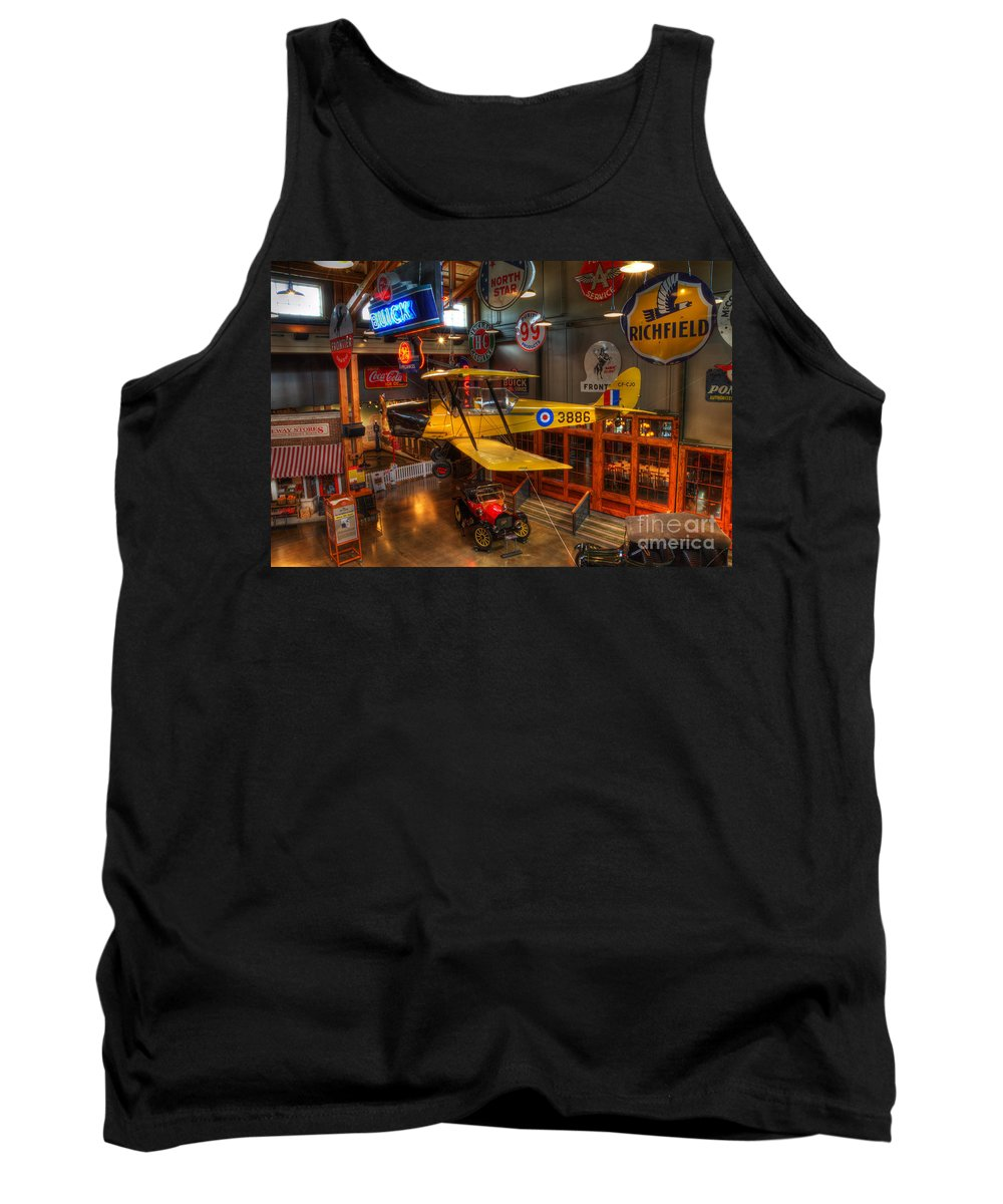 Vintage Airplane Tank Top featuring the photograph Vintage Assortment by Bob Christopher