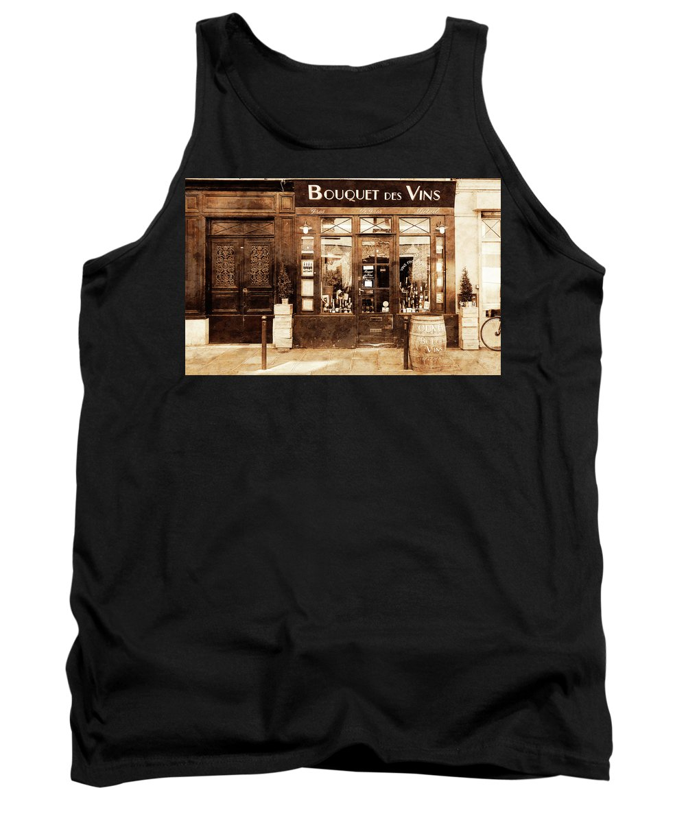 Paris Tank Top featuring the photograph Vintage Paris 4 by Andrew Fare