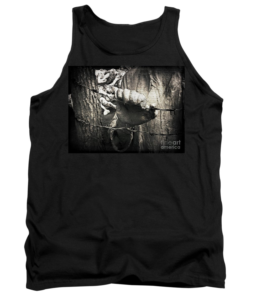 Ellcot Tank Top featuring the photograph We Will Never Forget by Ellen Cotton