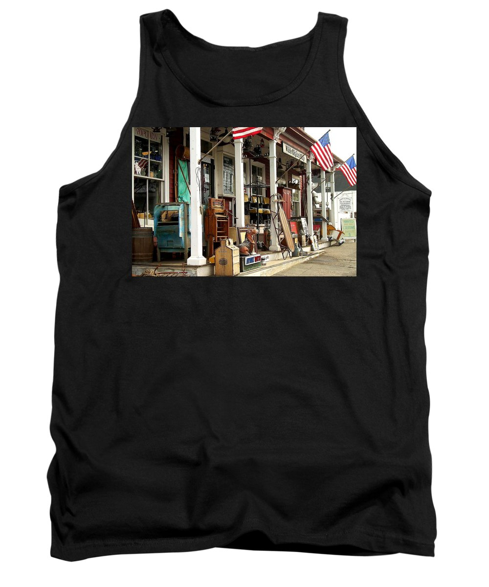 Junk Tank Top featuring the photograph White Elephant by Jeff Heimlich