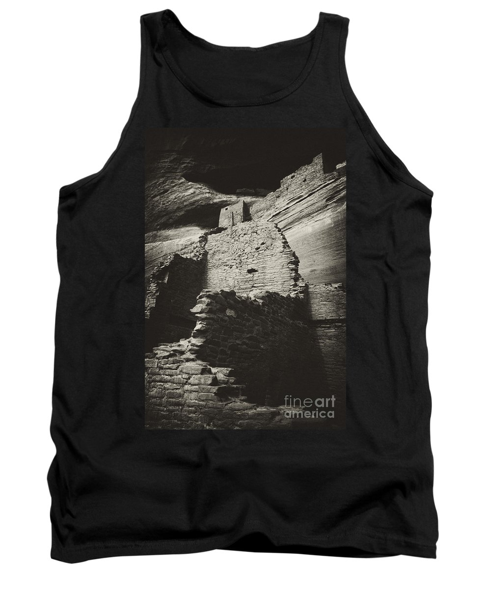 White Room House Tank Top featuring the photograph White Room House 2 by Paul W Faust - Impressions of Light