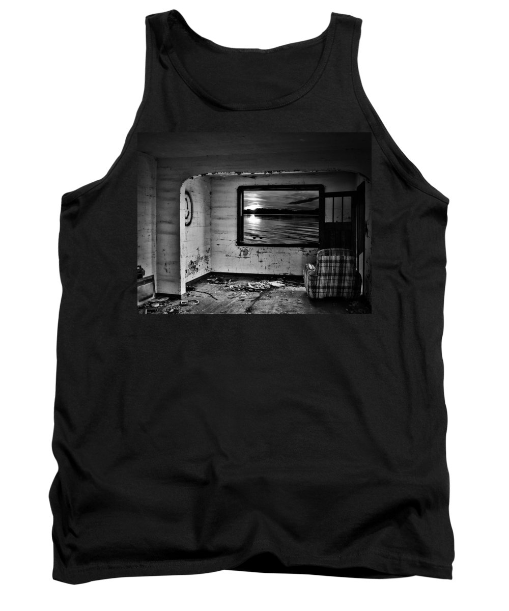 Street Photography Tank Top featuring the photograph Window Of Wish by The Artist Project