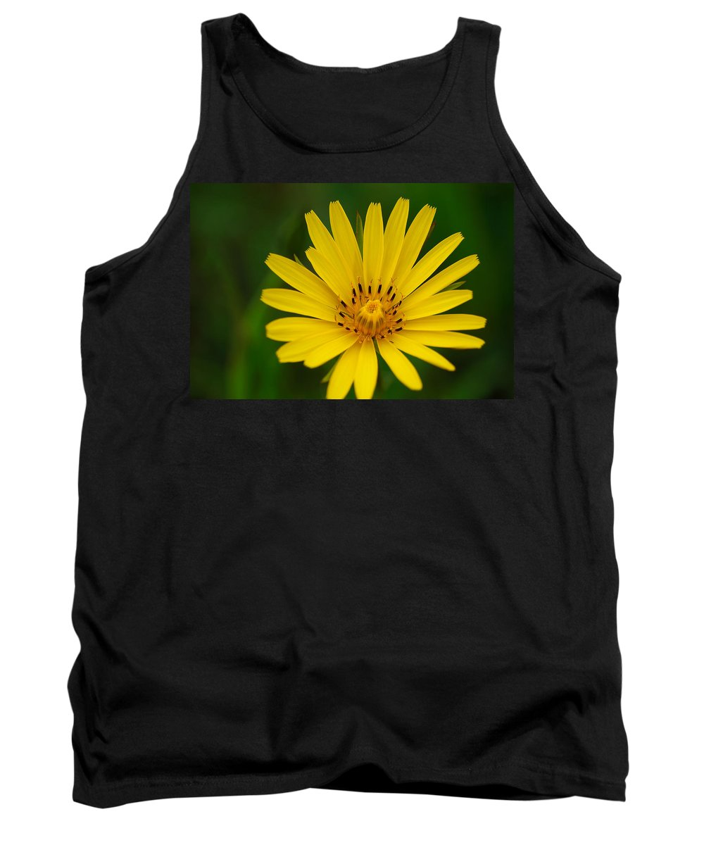 Flower Tank Top featuring the photograph Yellow by Ivan Slosar