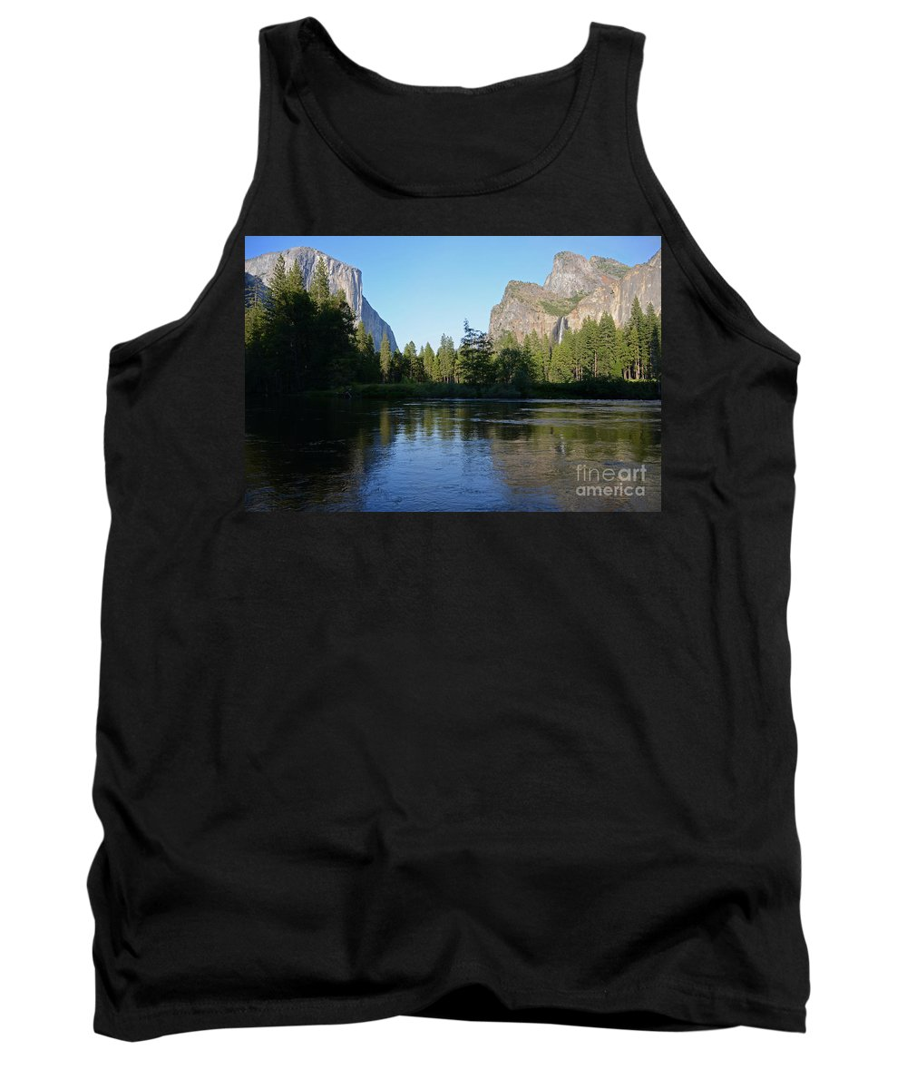 Yosemite National Park Tank Top featuring the photograph Yosemite by Cassie Marie Photography