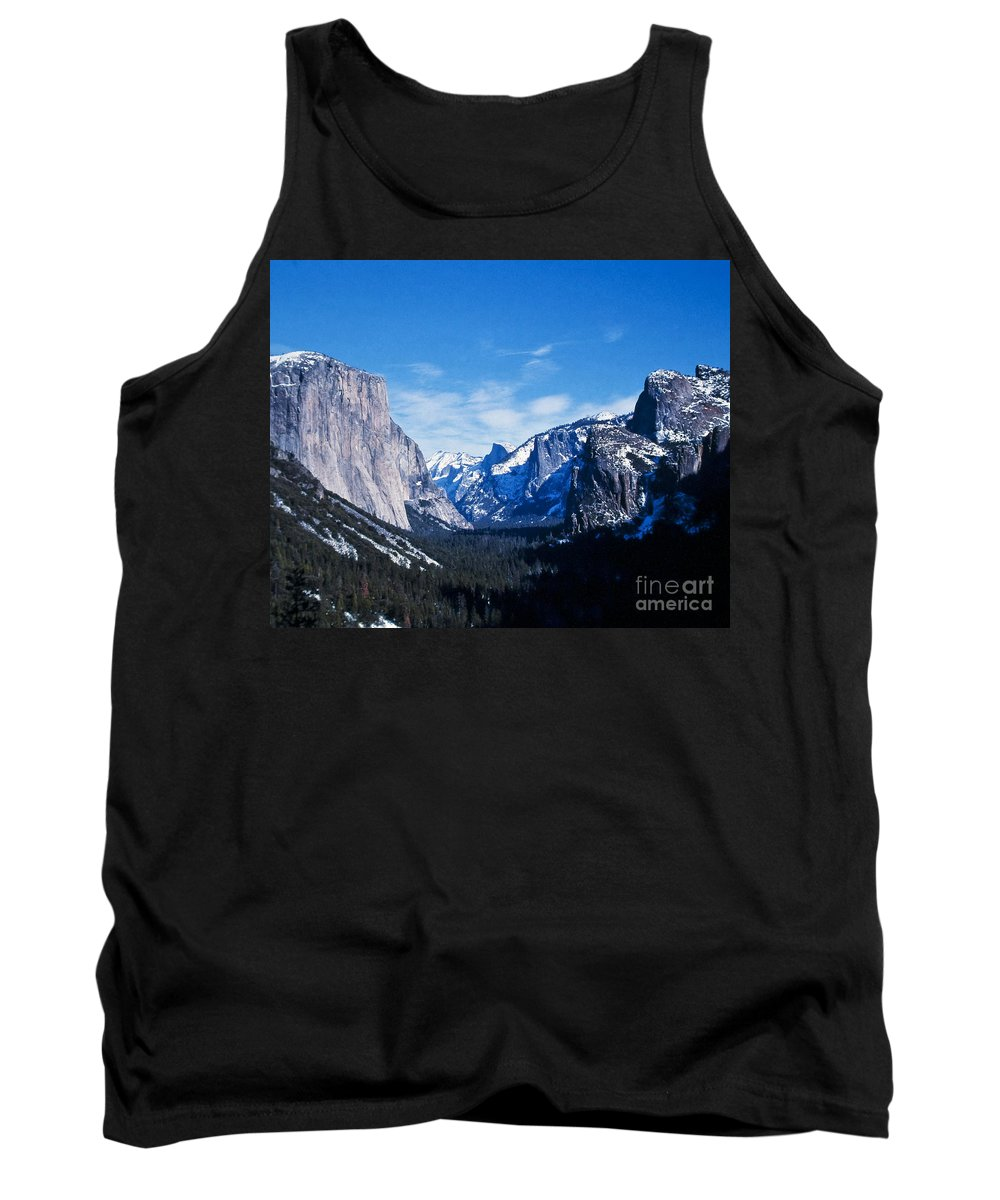 Mountains Tank Top featuring the photograph Yosemite Valley by Stephen Whalen