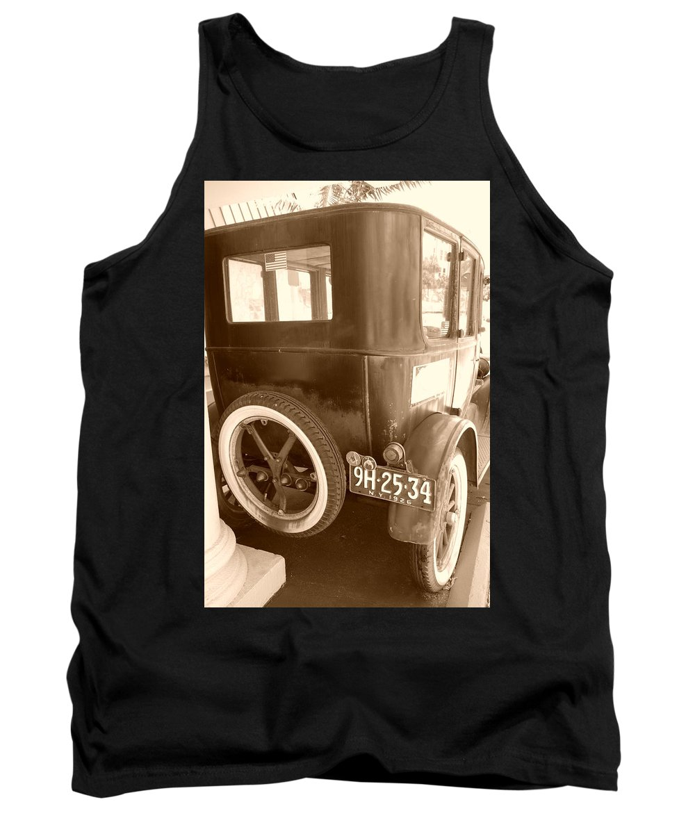Sepia Tank Top featuring the photograph 1926 Model T Ford by Rob Hans