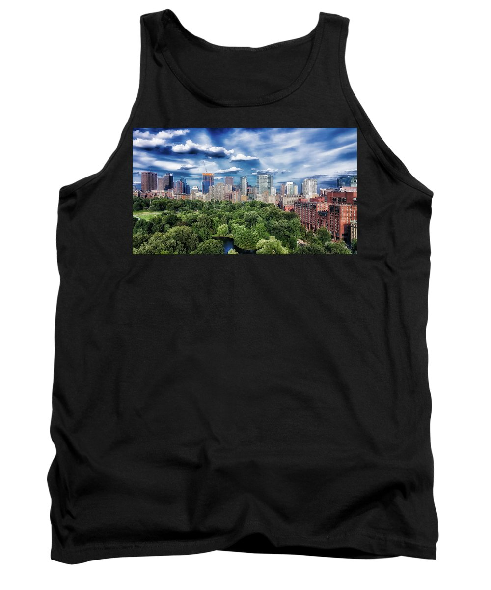 Boston Tank Top featuring the photograph A Summer Day In Boston by Mawsu