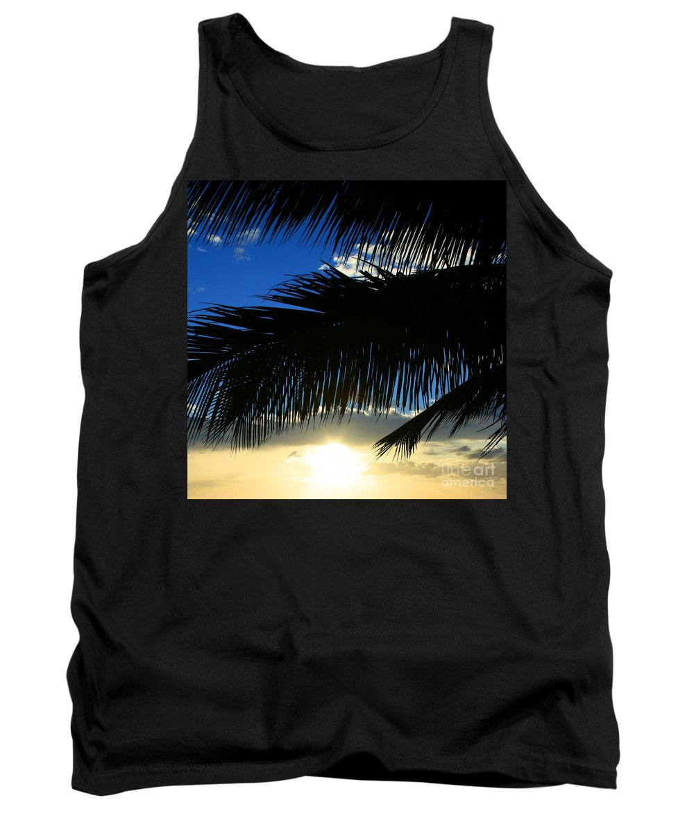 Tank Top featuring the photograph A Tropical Sensation by Sharon Mau