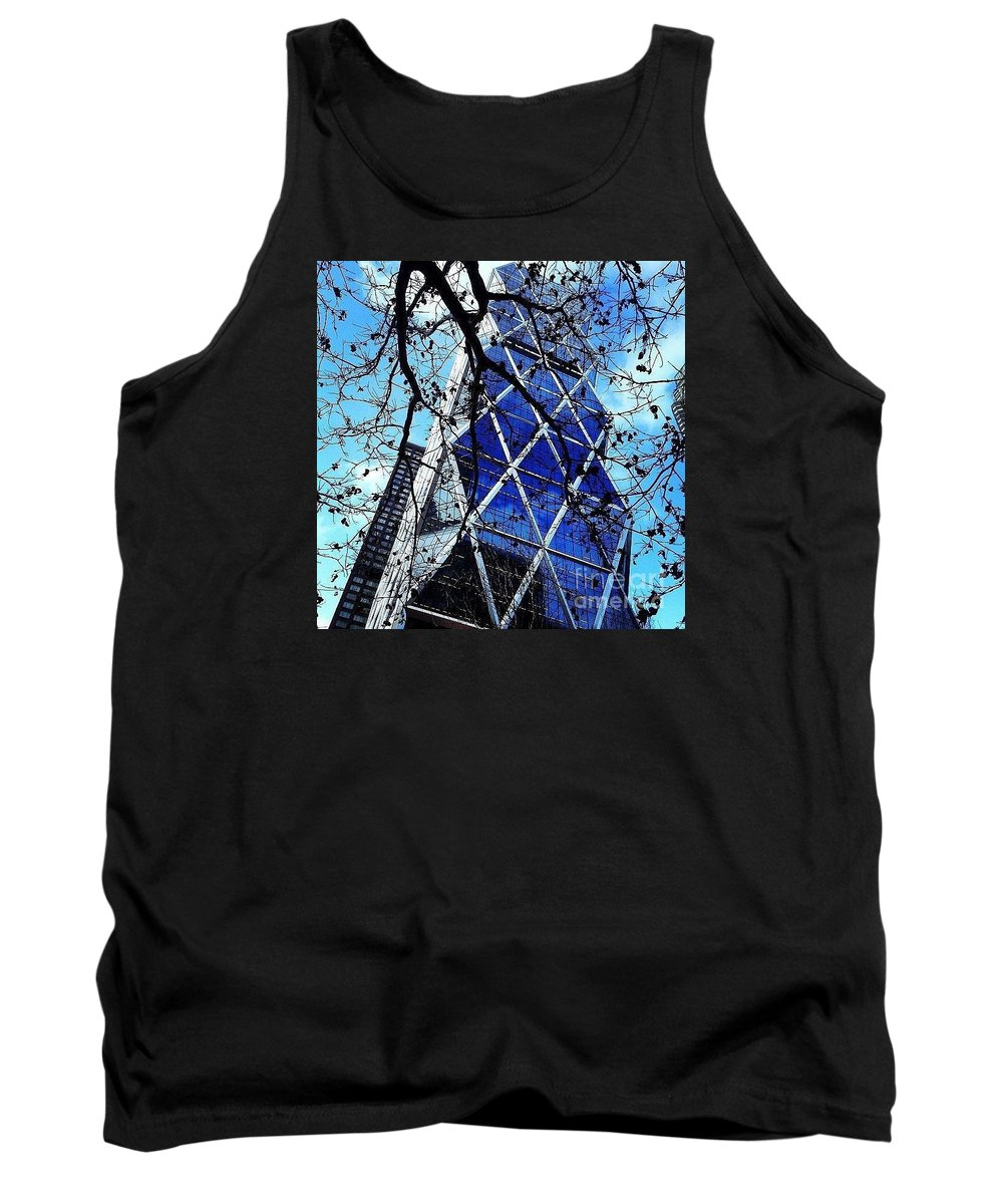 Tank Top featuring the photograph Blue by Christopher Adamo-Rocco