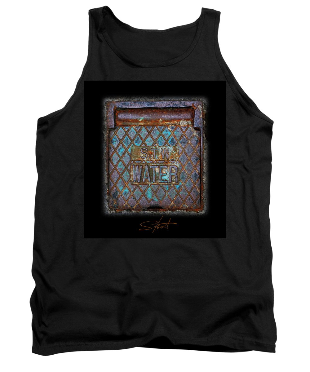 Water Tank Top featuring the photograph Blue Water by Charles Stuart