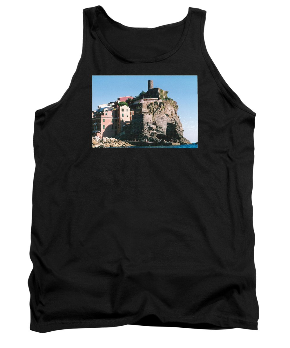 Italy Tank Top featuring the photograph Cinque Terre 3 Photograph by Kimberly Walker