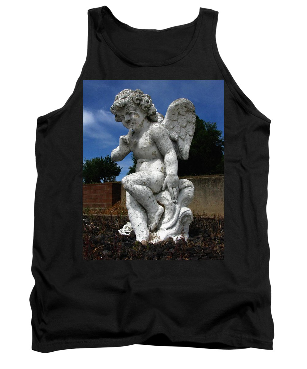 Contemplation Tank Top featuring the photograph Contemplation by Peter Piatt