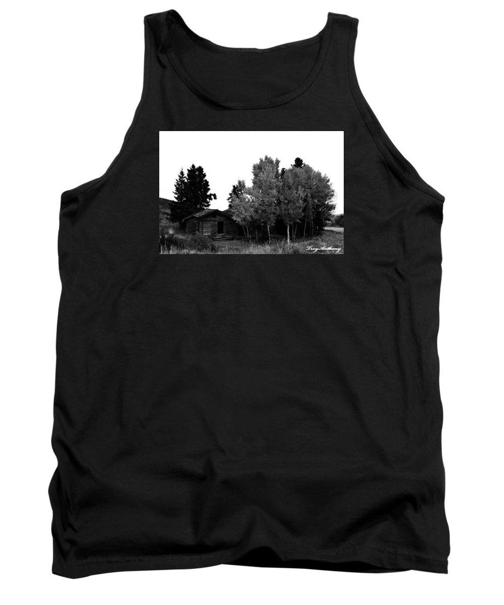 Dream Tank Top featuring the photograph Dreaming In Monochrome by TroyAnthony Schermer