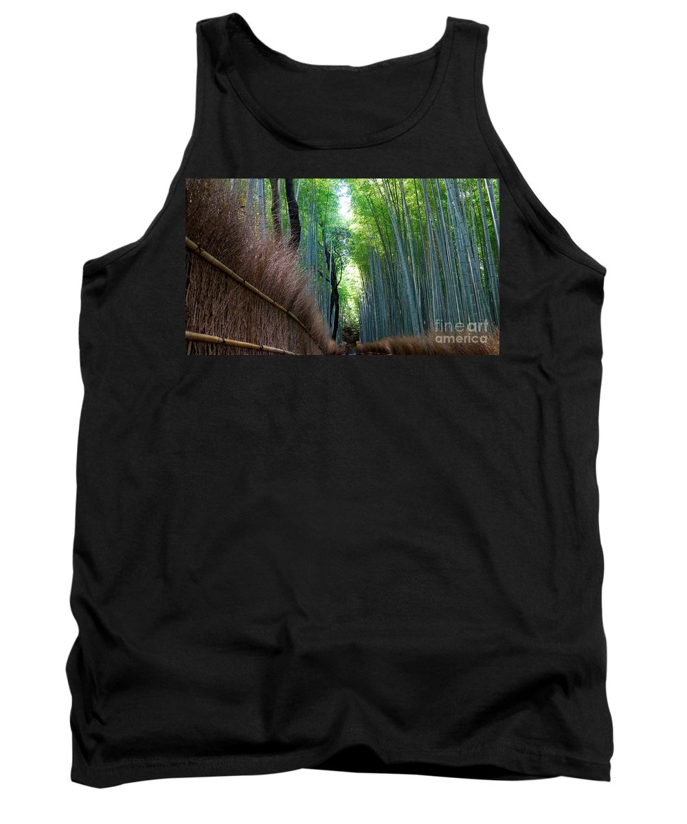 Bamboo Forrest Tank Top featuring the photograph Earth Moments Gallery I by Elohim G