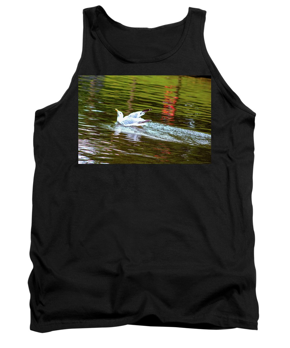 Bird Tank Top featuring the photograph Freedom Is Priceless by Zahra Majid