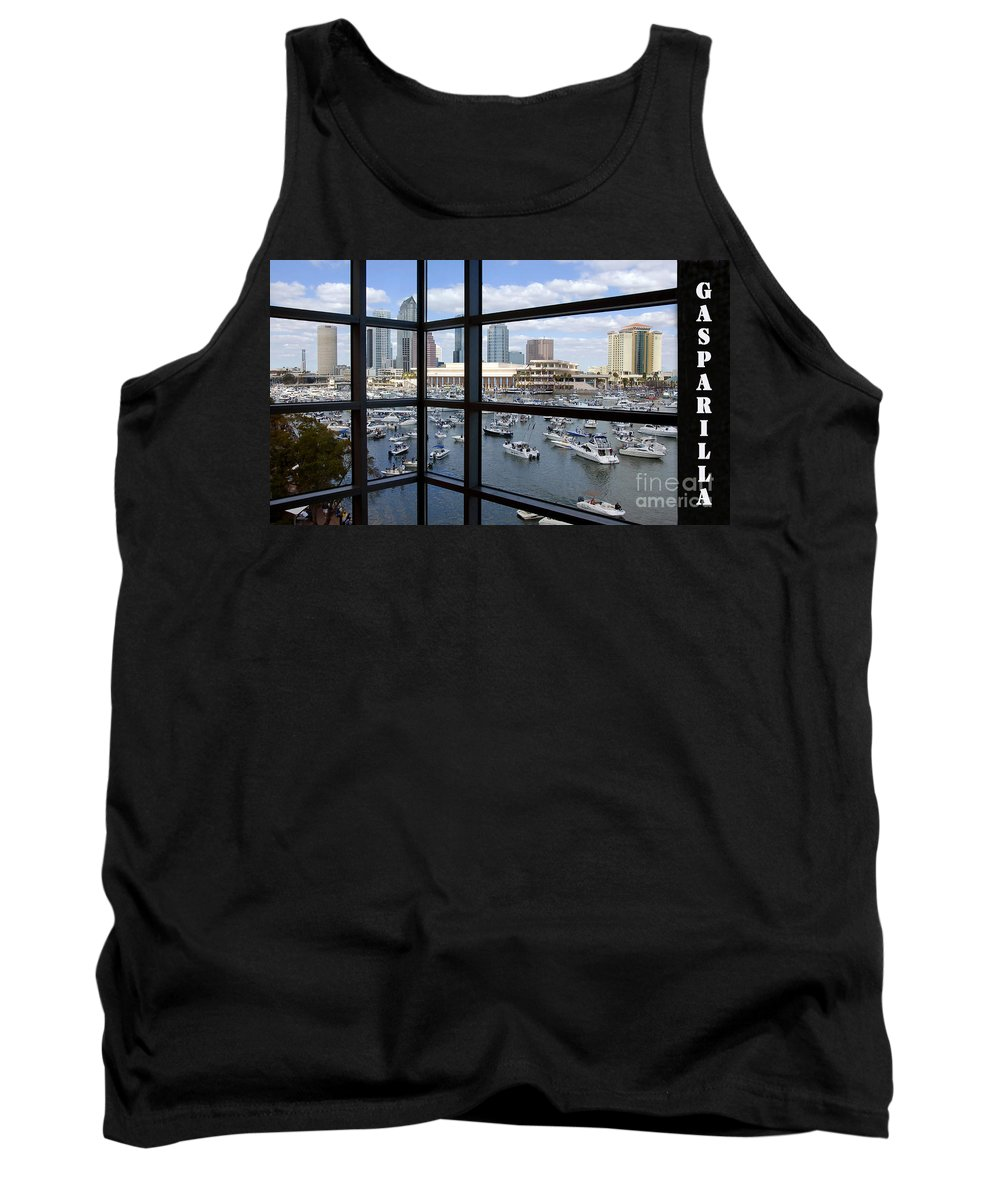 Gasparilla Pirate Festival Tampa Bay Florida Tank Top featuring the photograph Gasparilla by David Lee Thompson