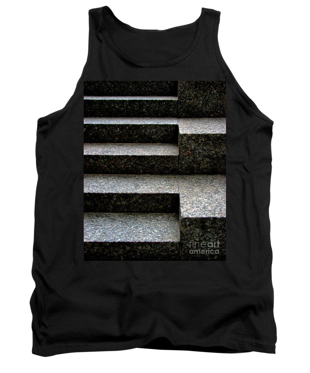 Architectural Tank Top featuring the photograph Gradation by Dana DiPasquale