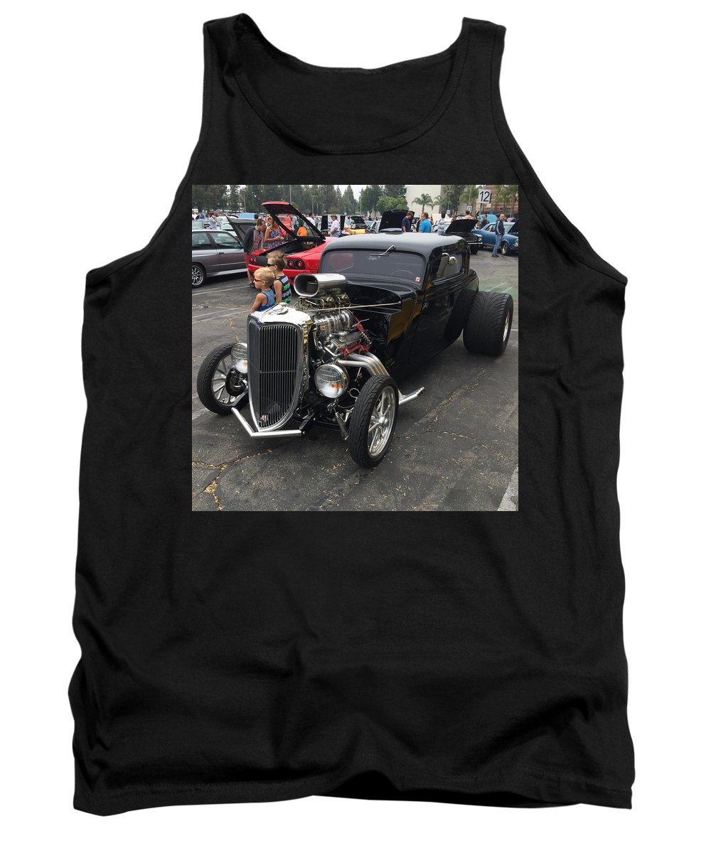 Hot Rod Tank Top featuring the photograph Hot Rod by MAG Autosport