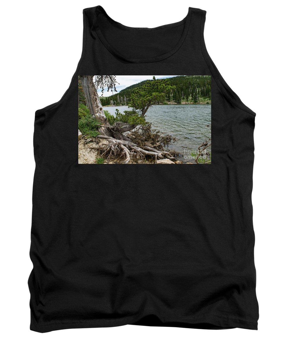 Lake Cleveland Tank Top featuring the photograph Idaho Lake by Steven Eyre Photography