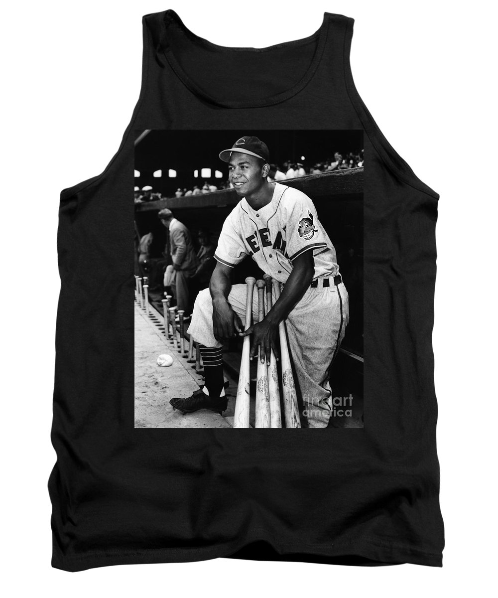 1947 Tank Top featuring the photograph Larry Doby (1923-2003) by Granger