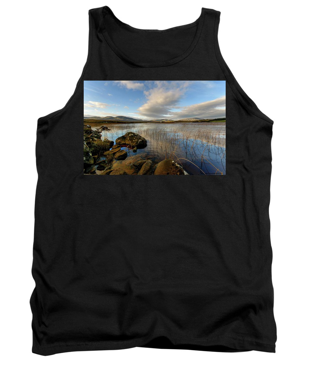 Isle Of Skye Canvas Tank Top featuring the photograph Loch Mealt by Smart Aviation