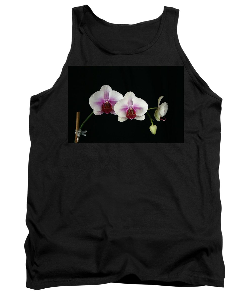 Moth Tank Top featuring the photograph Moth Orchid 3 by Marna Edwards Flavell
