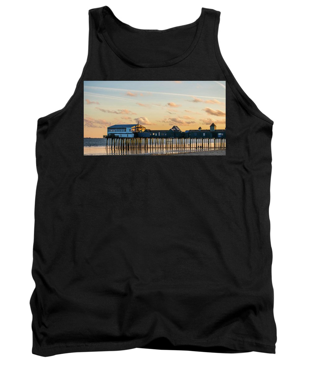 Old Orchard Beach Maine Tank Top featuring the photograph Old Orchard Beach Maine by Trace Kittrell