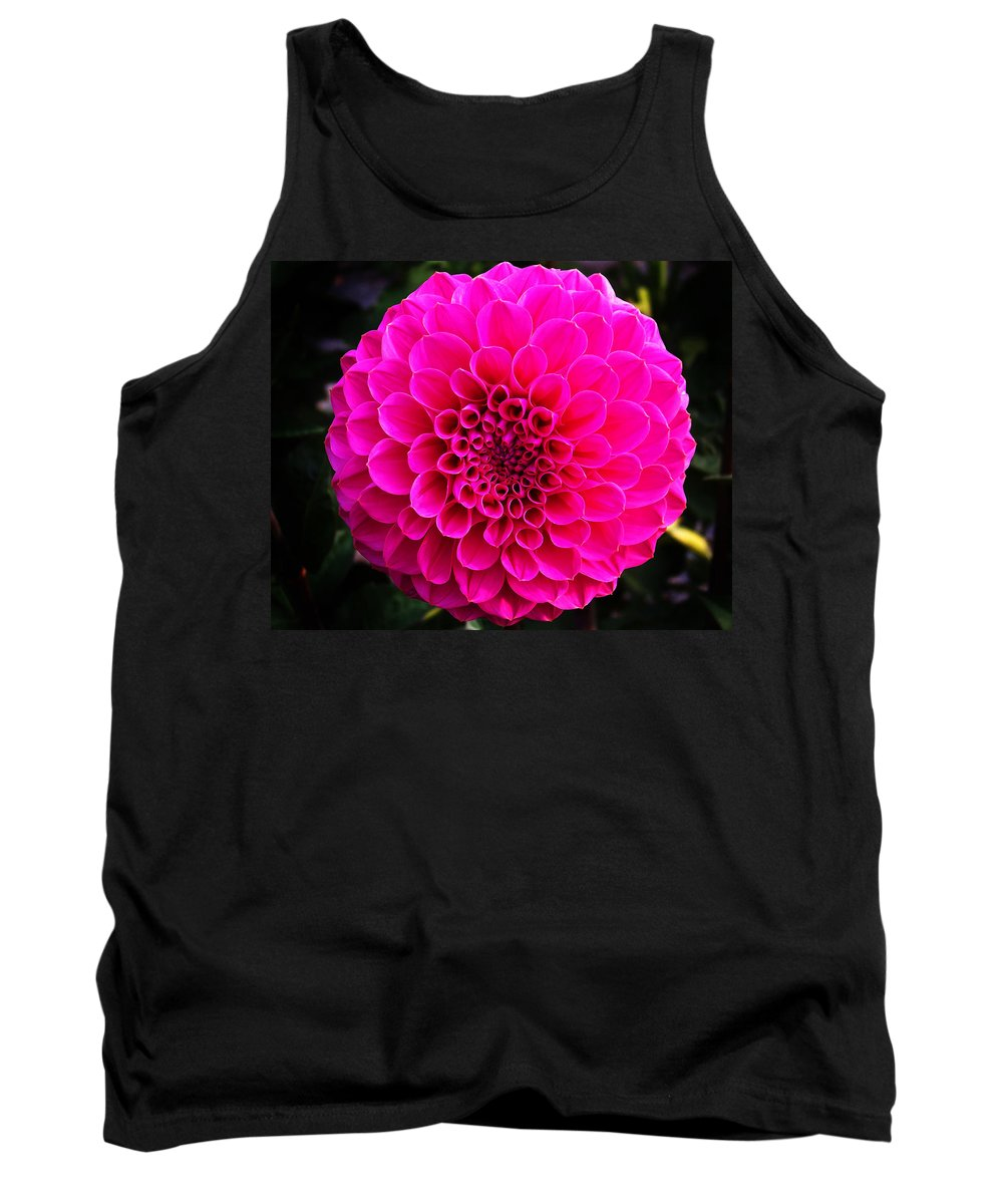 Flower Tank Top featuring the photograph Pink Flower by Anthony Jones