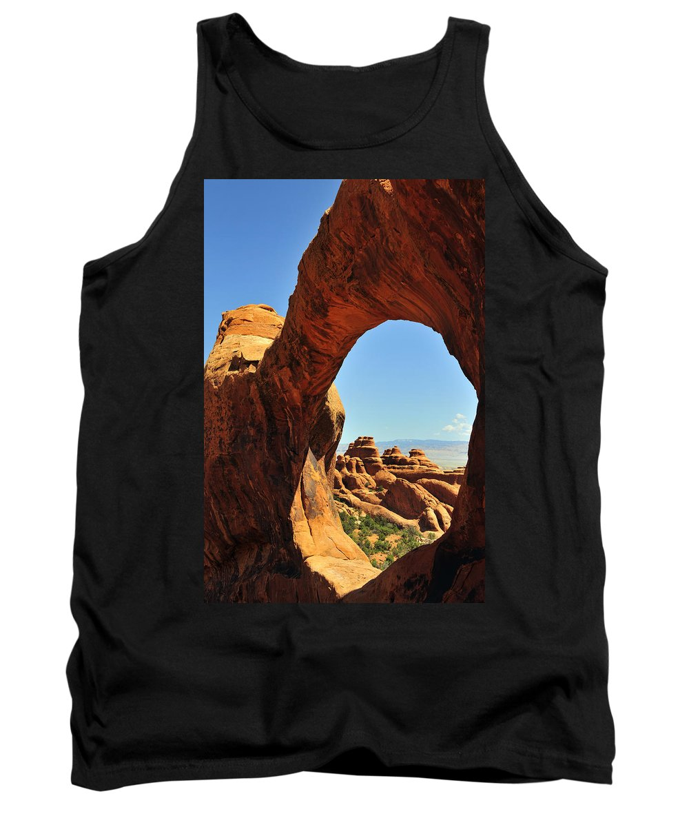 Portal Tank Top featuring the photograph Portal by Skip Hunt