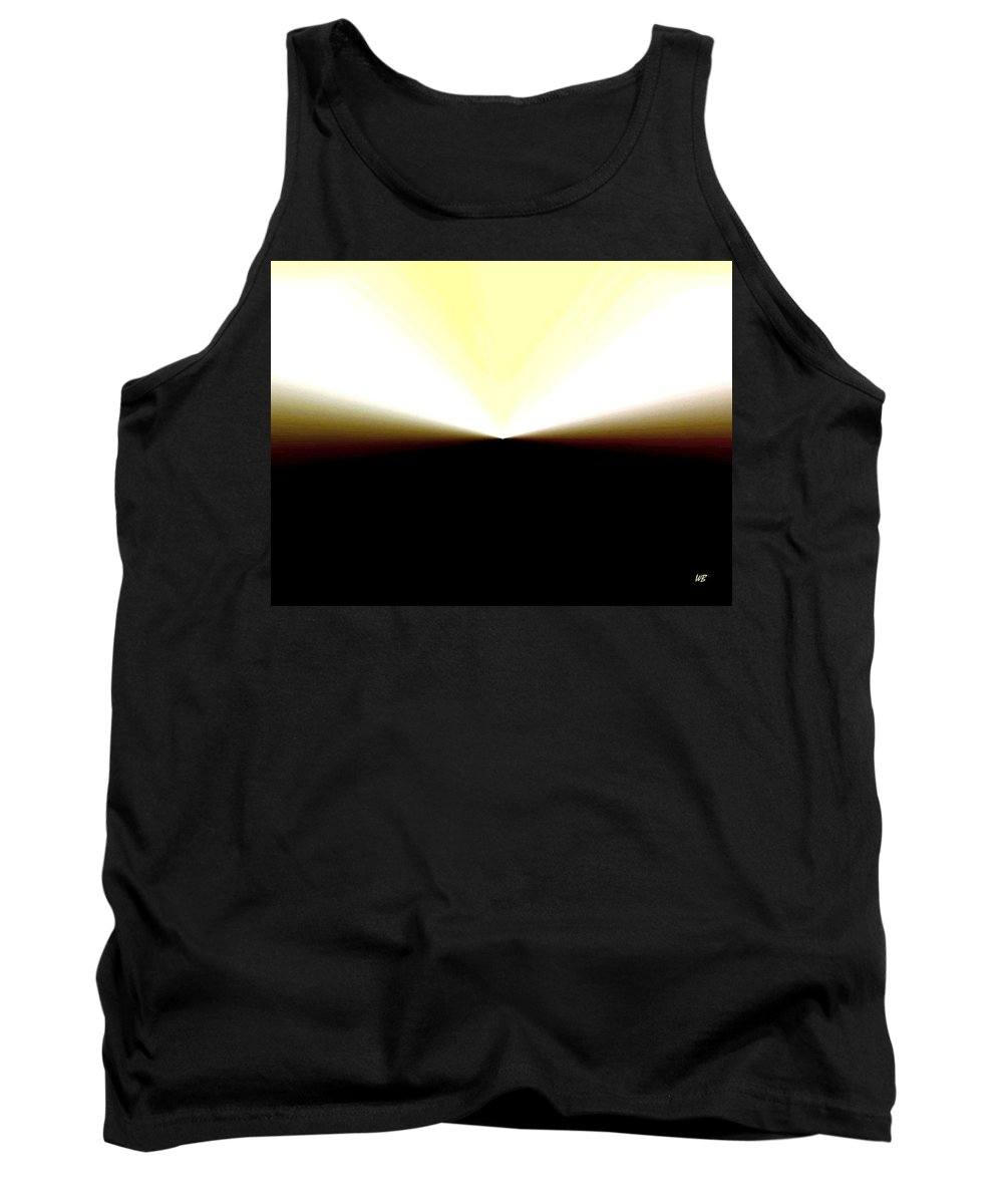 Abstract Tank Top featuring the digital art Radiation by Will Borden