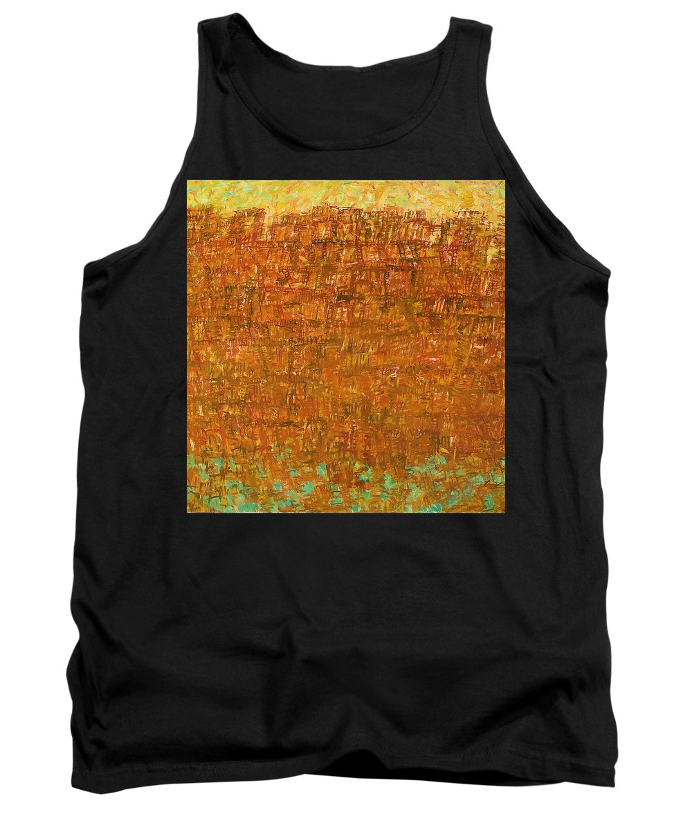 Ship Tank Top featuring the painting Ship by Robert Nizamov