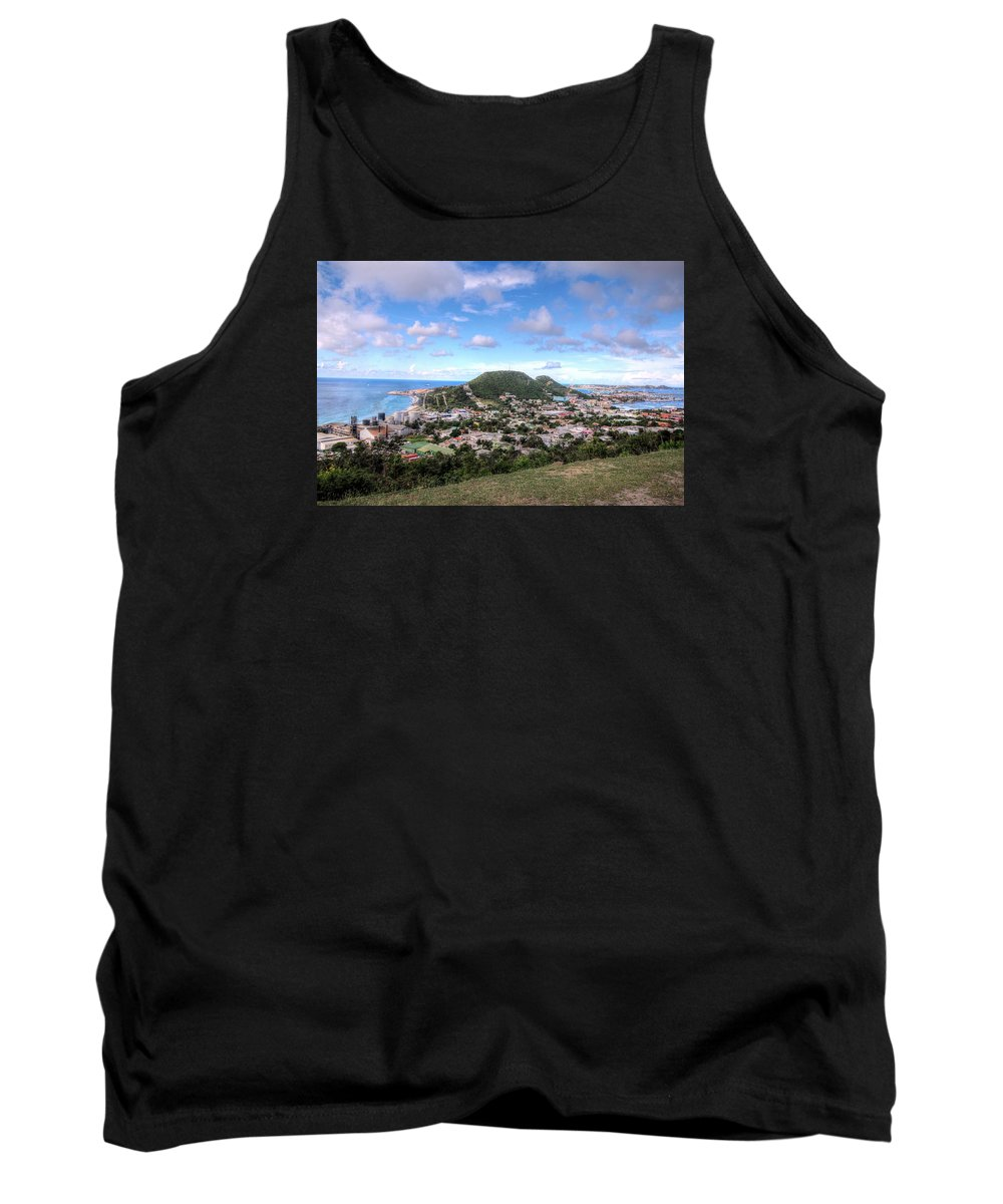 St. Maarten Tank Top featuring the photograph St. Maarten by Paul James Bannerman