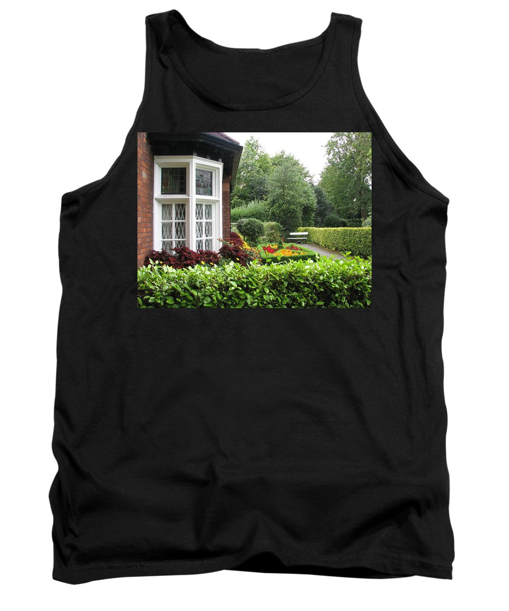 St. Stephen's Green Tank Top featuring the photograph St. Stephen's Green by Kelly Mezzapelle