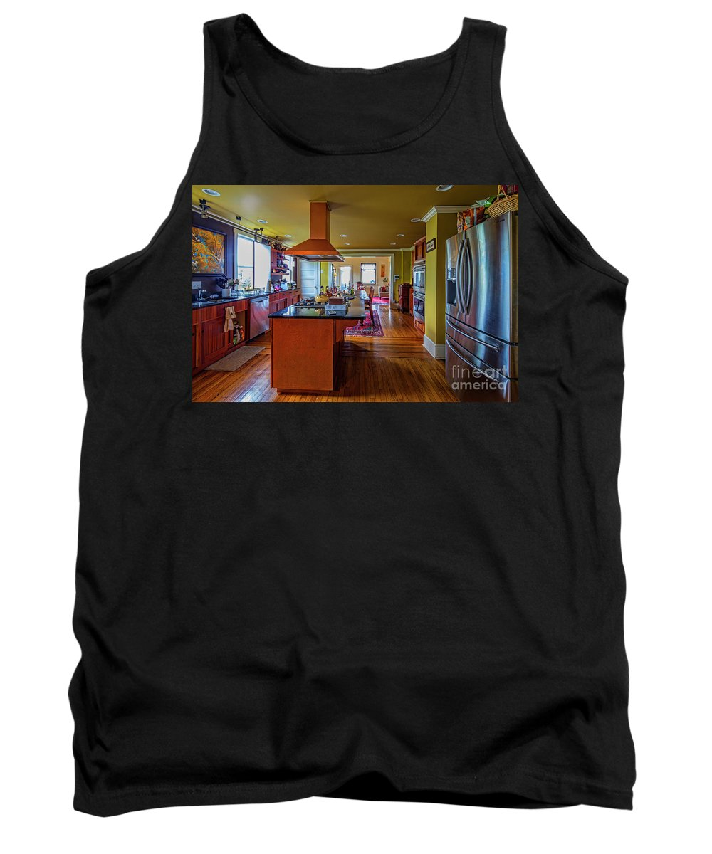 Architectural Interior Photography Tank Top featuring the photograph Thomas Kitchen by Doug Berry