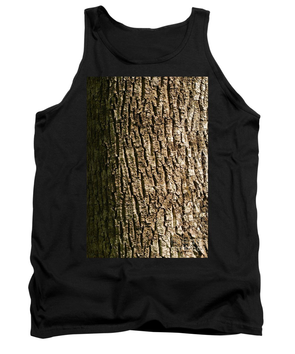 Aged Tank Top featuring the photograph Tree Bark by Cristian M Vela