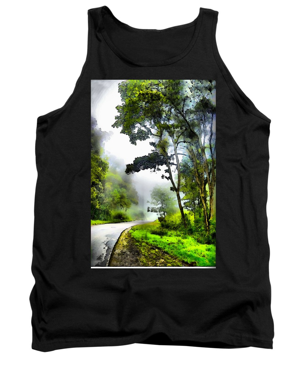 Selva Tropical Tank Top featuring the photograph Tropical Forest by Galeria Trompiz