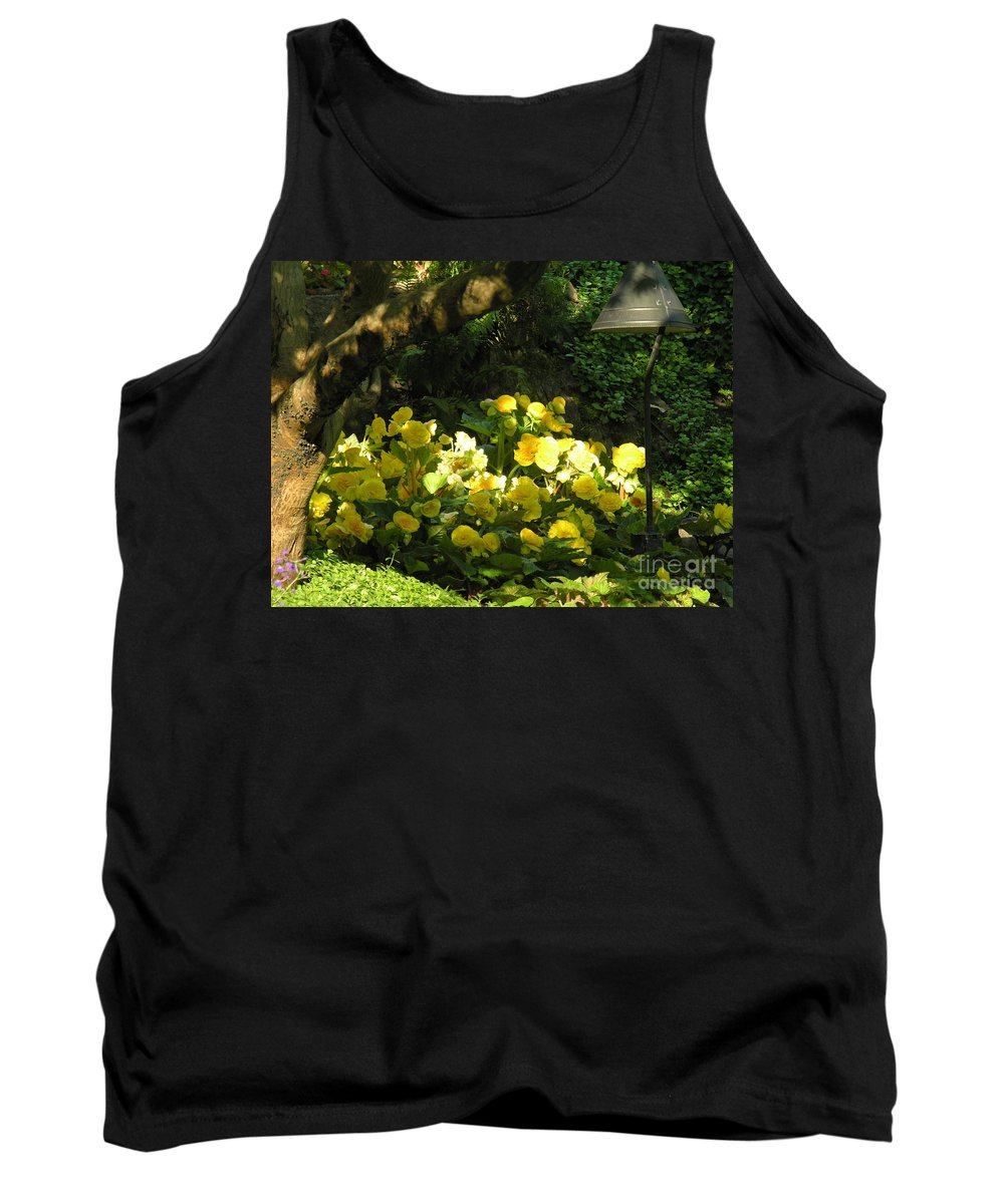 Yello Tank Top featuring the photograph Untitled by Diane Greco-Lesser
