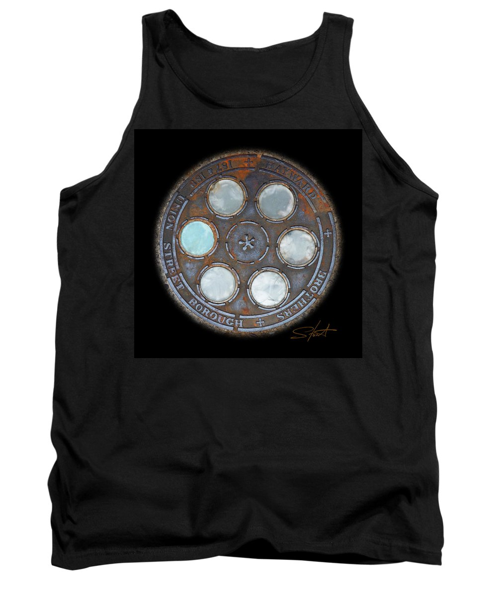 Circle Tank Top featuring the photograph Wheel by Charles Stuart