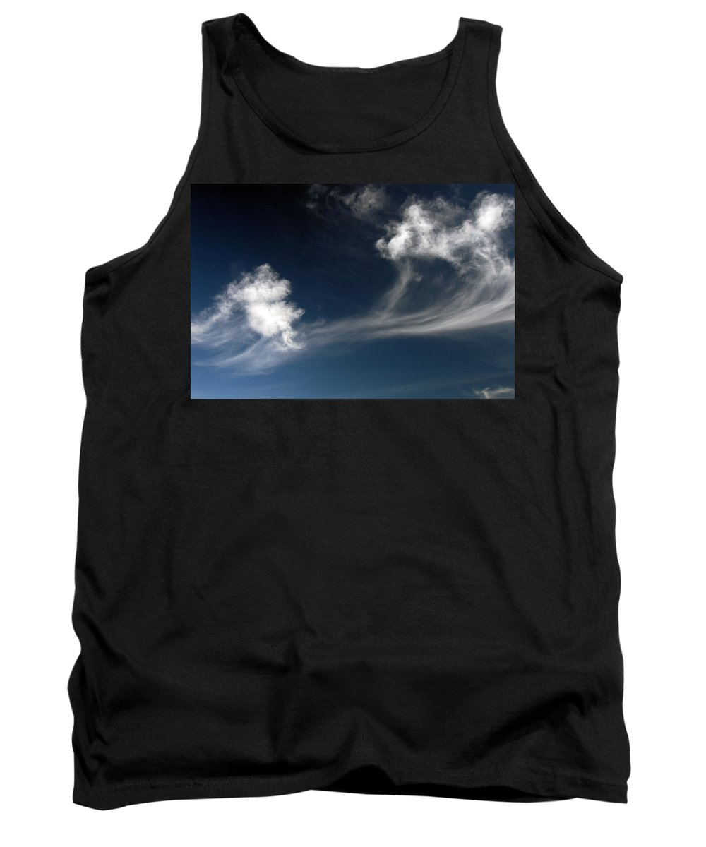 Clay Tank Top featuring the photograph Clouds by Clayton Bruster