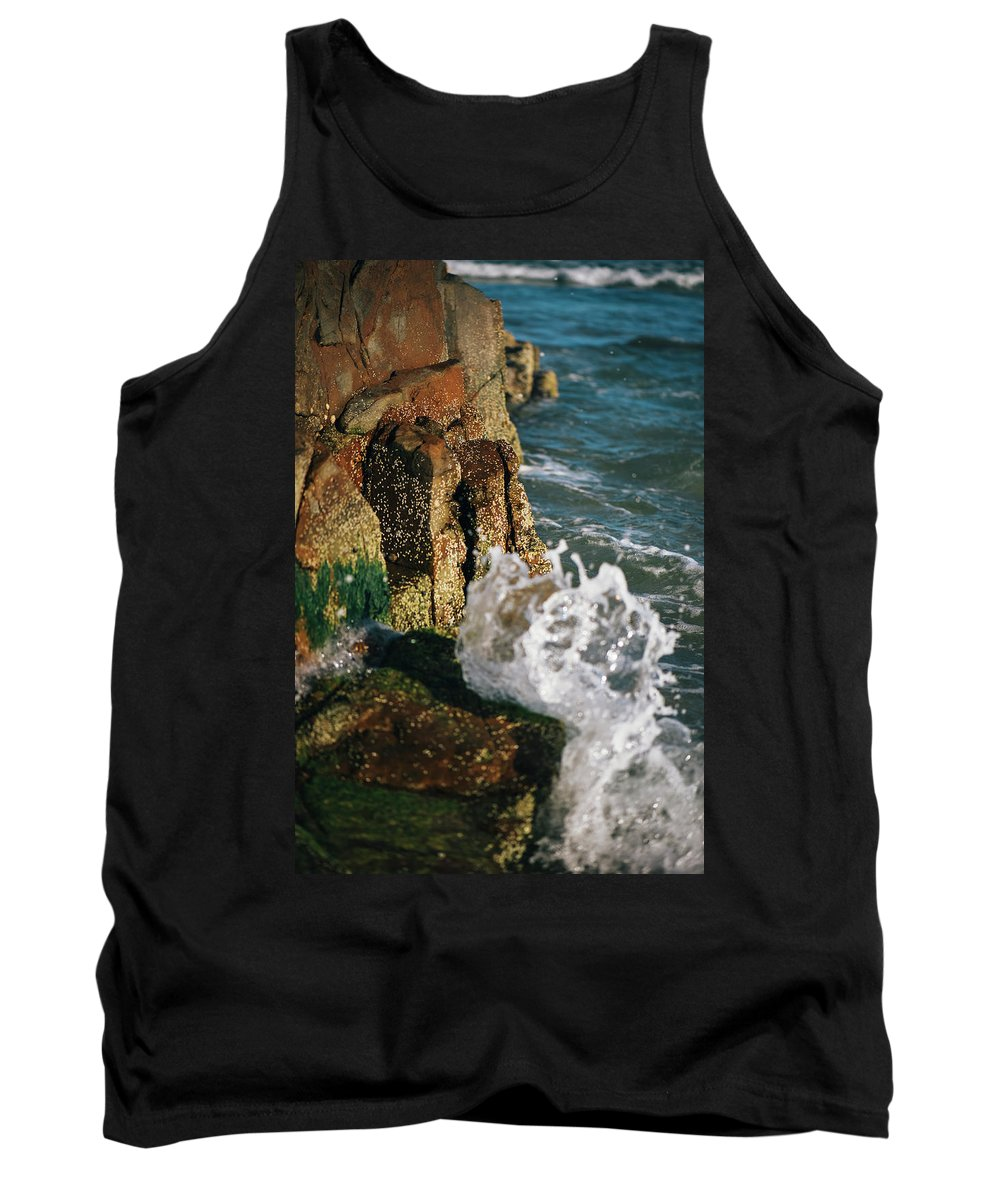 Sunshine-beach Tank Top featuring the photograph Sunshine Beach At Noosa, Sunshine Coast by Rob D