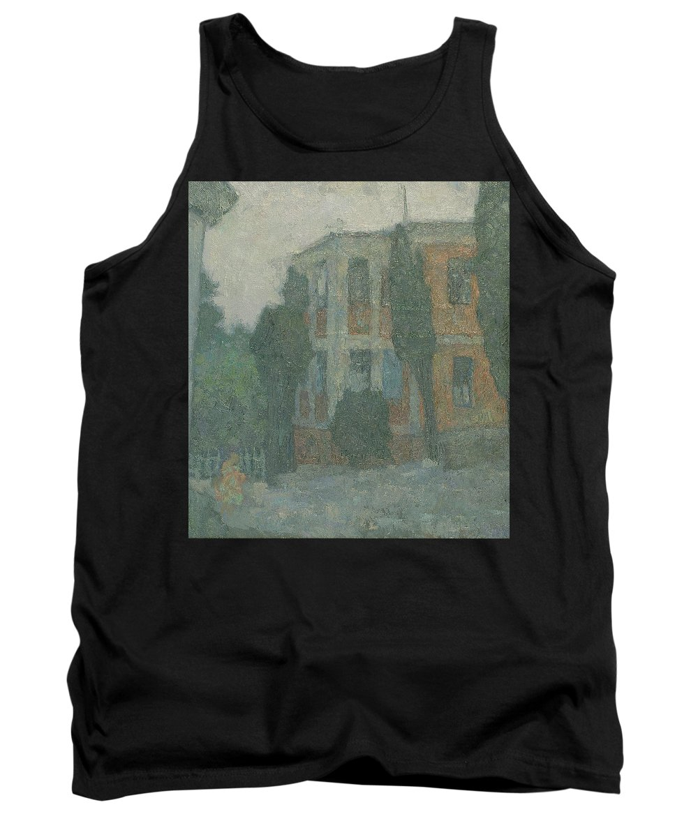 Summer Tank Top featuring the painting Alupka by Robert Nizamov