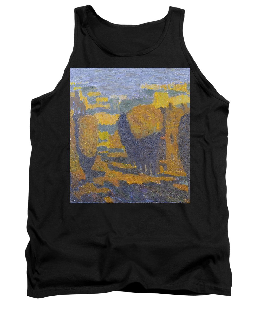 Summer Tank Top featuring the painting Sunset by Robert Nizamov