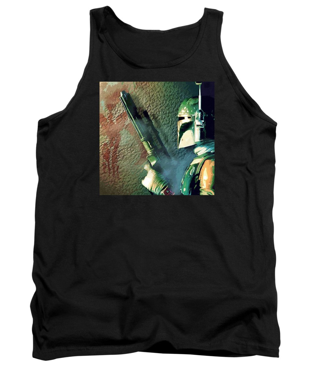 Imperial Star Wars Tank Top featuring the digital art Jedi Star Wars Art by Larry Jones
